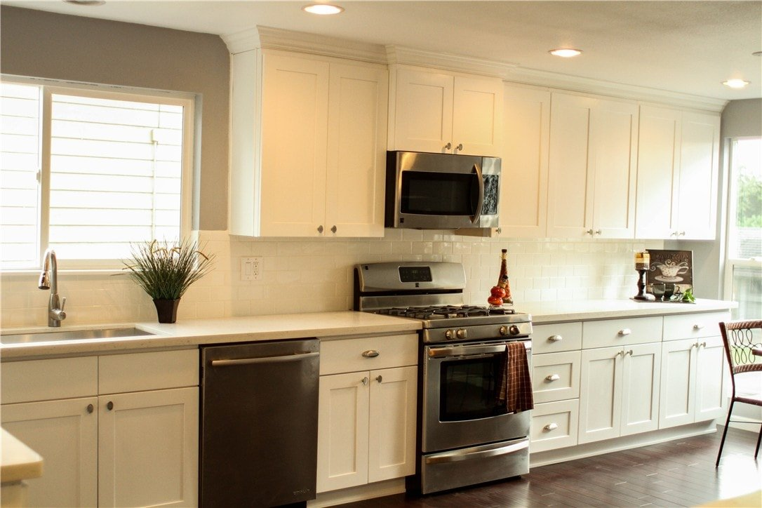 White shaker maple pius kitchen bathpius kitchen bath - Kitchen images with white cabinets ...
